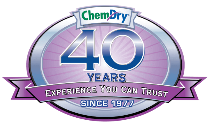 more than 40 years of chem-dry carpet cleaning