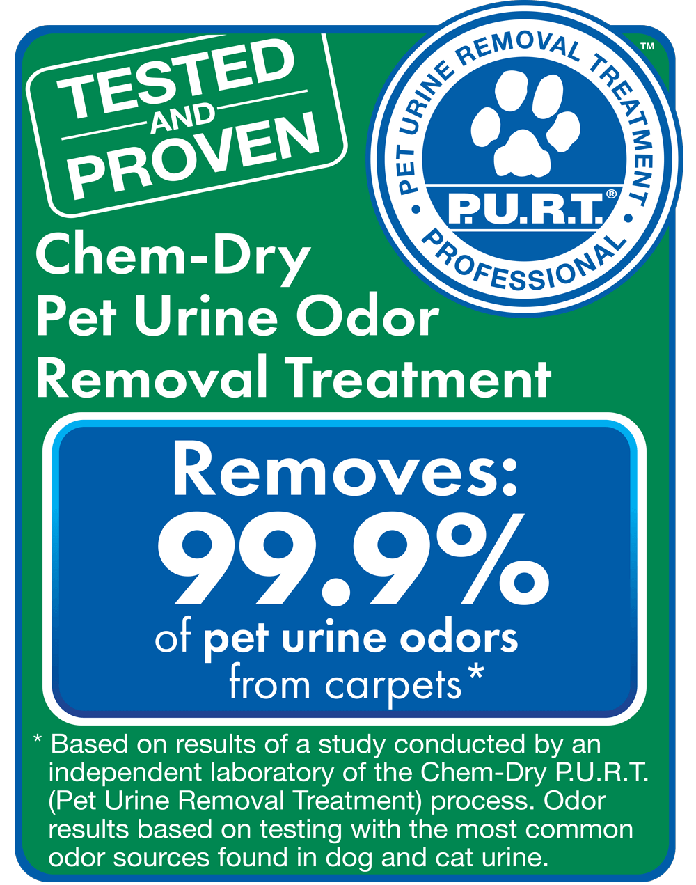 chem-dry removes pet urine bacteria from carpets in san diego