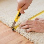 carpet repair cutting and plugging