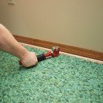 carpet pad installation