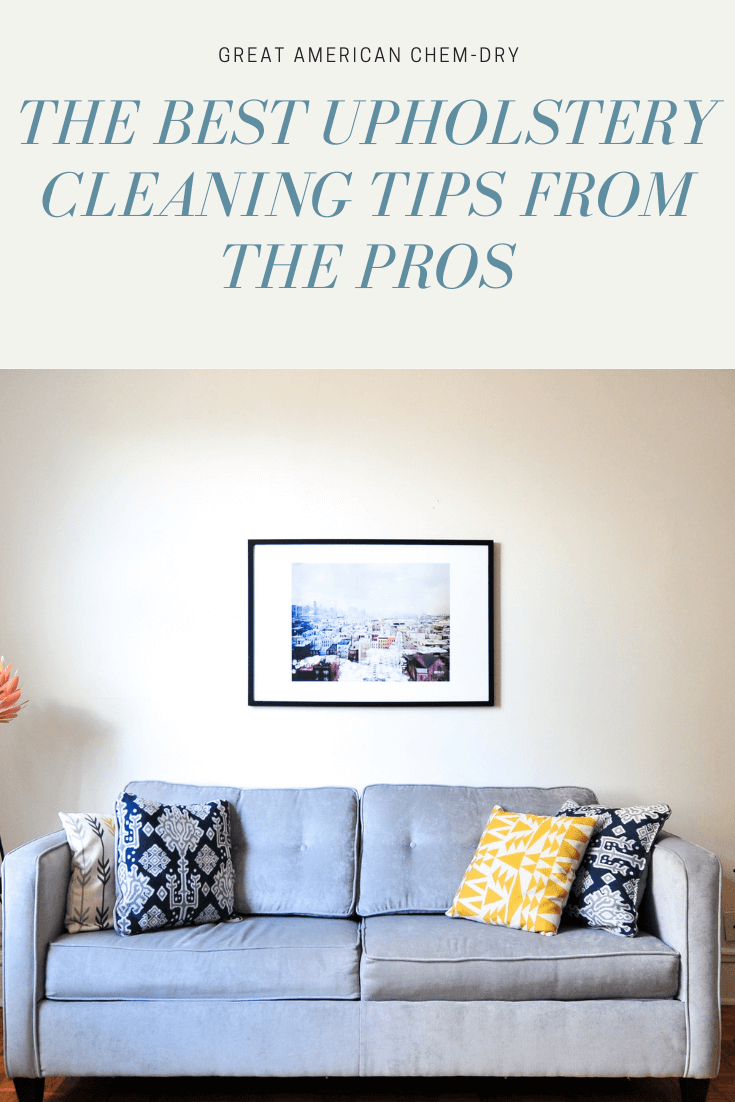 furniture cleaning tips from the pros here in San Diego