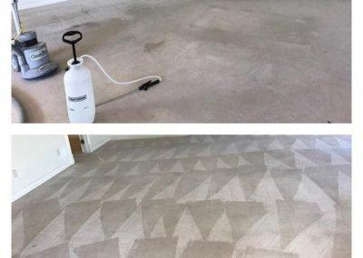 carpet before a sanitation